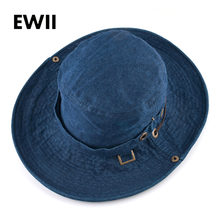 4d892d19b37bd Unisex western cowboy hat for men summer panama caps women beach sun hats  men visor bucket