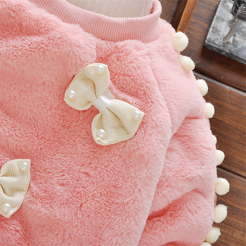 BibiCola Baby Girl Sweater Қысқы балалар Bebe - Балаларға арналған киім - фото 2