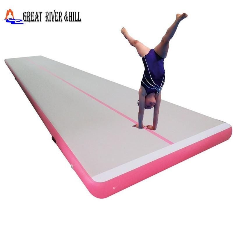 все цены на inflatable gymnastics track gymnastics air track /air track gymnastics mat for tumbling training 16.4ftx3.3ftx4inch онлайн