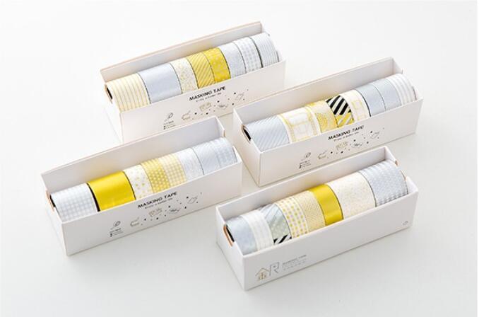 Gold & Silver Washi Tape Set , Metallic Decorative Masking Tape for DIY Scrapbooking bulk christmas trees washi tape set of 12pcs fun versatile and decorative craft tape card making