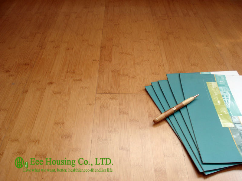Indoor Bamboo Flooring With Semi-matt Finish, Carbonized Color,1020x128x15mm Bamboo Floors,Waterproof Bamboo Flooring