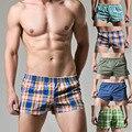 Roupa interior dos homens shorts de algodão dos homens de conforto Mobiliário Doméstico homens seta shorts boxers para homens