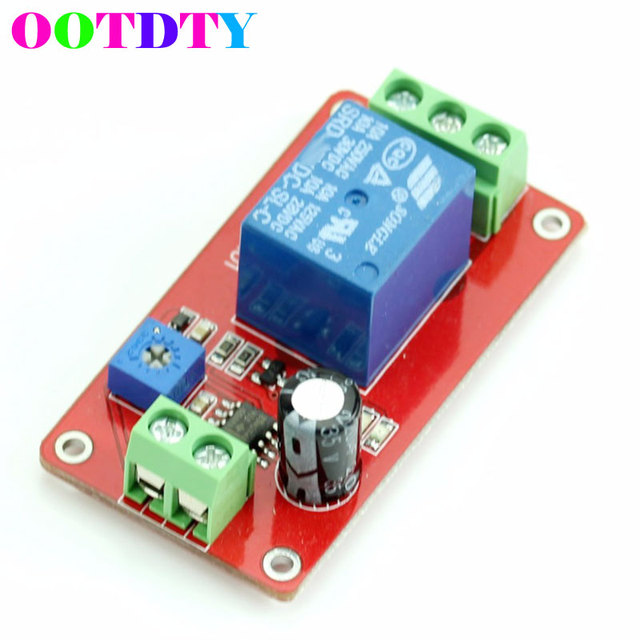 ne555 adjustable delay switch 1 to 20 second dc 12v delay timer rh aliexpress com