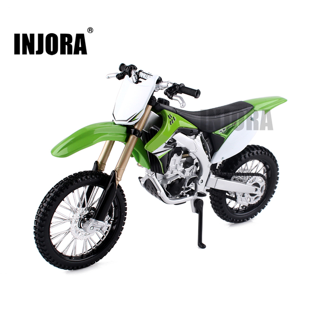Mini decoración de motocicleta para coche de control remoto, para 1/10, Rock Crawler Traxxas TRX 4 TRX4 Axial SCX10 90046 D90 D110 TF2
