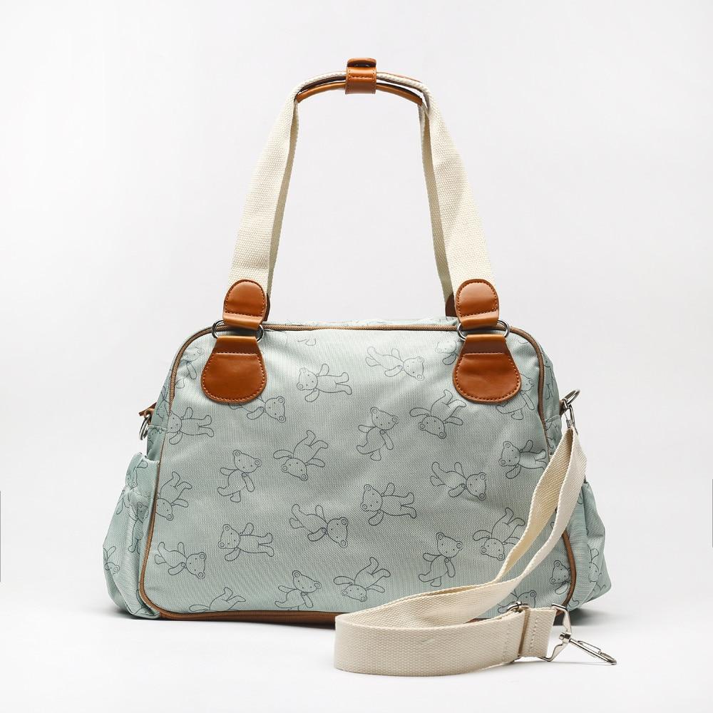 Large Capacity Multi function Diaper Bag Shoulder Mammy Bag Maternity Nursing Bag-in Diaper Bags from Mother & Kids    3