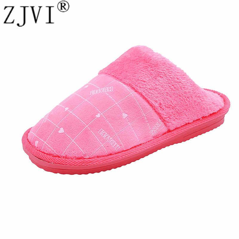 ZJVI/2019 г.; Лидер продаж; женские домашние тапки в клетку; обувь с хлопковой подкладкой; женские зимние мужские и мужские Тапочки