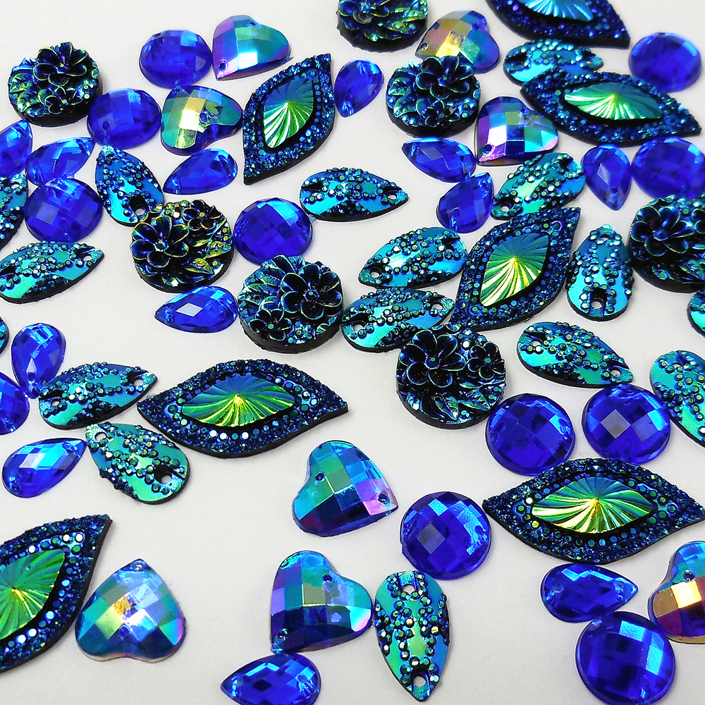 827b9d34d8 Buy royal blue stone and get free shipping on AliExpress.com