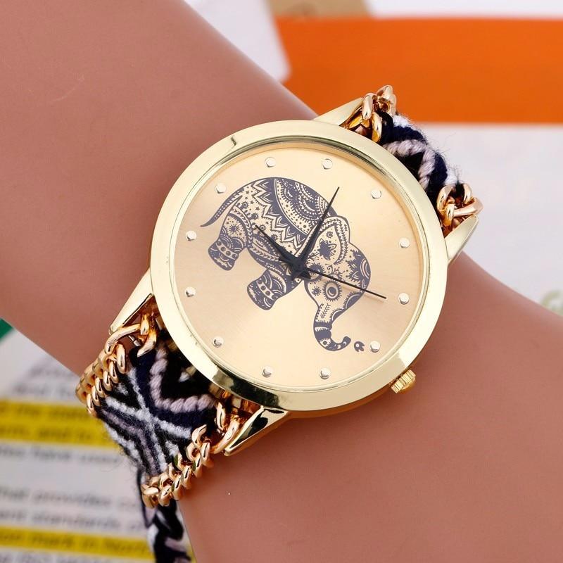 Reloj Mujer Uus Bayan Saatleri mood käevõru Watch naiste põimitud - Naiste käekellad