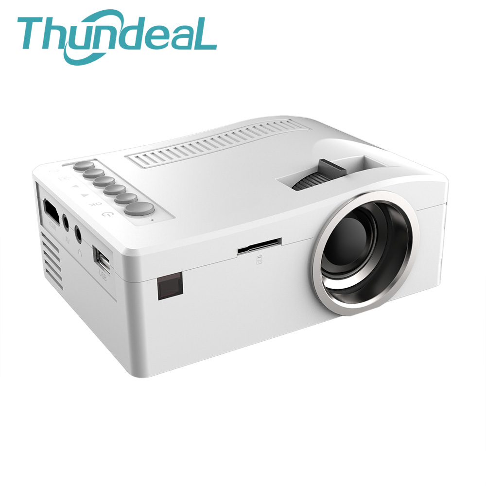 Unic UC18 Mini Portable LED Projector For Home Theater Game Beamer Proyector Projetor With SD HDMI AV USB Speaker