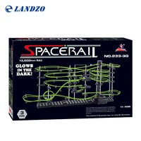 Space Raill Funny Building Kit Roller Coaster Toys Glow In The Dark Perpetual Rollercoaster 5 Rail