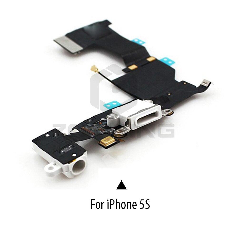 Image 3 - 1 шт. зарядный порт док станция USB разъем гибкий для iPhone 5 5S 6 6S 7 8 Plus наушники аудио разъем микрофон гибкий кабель-in Шлейфы для мобильных телефонов from Мобильные телефоны и телекоммуникации on AliExpress