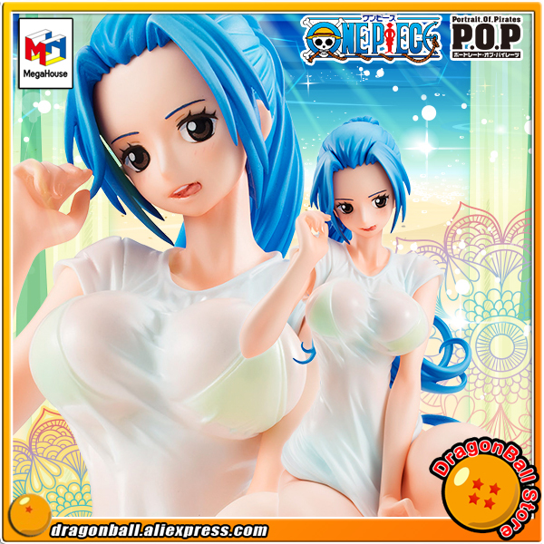 ONE PIECE Original MegaHouse P.O.P / Portrait Of Pirates Excellent Model LIMITED Collection Figure - Nefeltari.Vivi Ver. BB genuine megahouse p o p portrait of pirates excellent model limited one piece nefeltari vivi ver bb collection figure