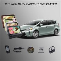 Car Headrest Monitor 2 10 1 Digital ScreenSupport USB SD DVD Player Games Remote Control For
