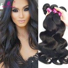 Queen Hair Products Malaysian Virgin Hair Body Wave 3 Bundles Stema Hair Malaysian Body Wave Peerless Virgin Maylasian Hair