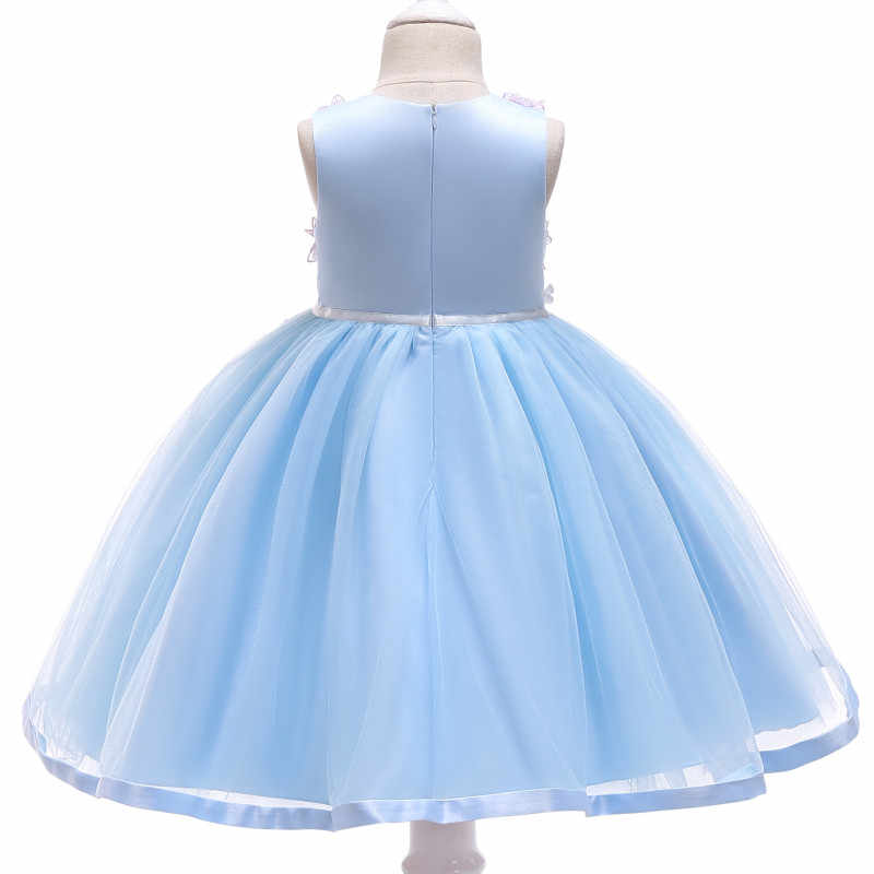 bf767912866fb 2018 Girls Dresses Christmas Children's Wear Children's Princess Tutu Dress  Kids Baby Party Applique Sweet Dress Summer