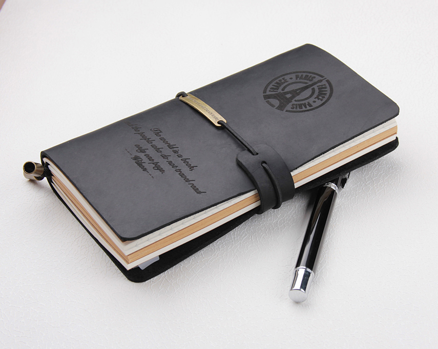Leather Traveller journal notebookLeather Traveller journal notebook