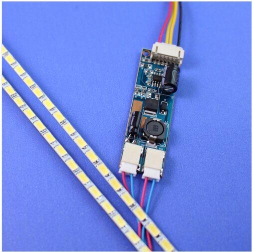 NEUE 490mm Led-hintergrundbeleuchtung Streifen Licht Kit DC 10-30V 22 Inch CCFL Lcd-bildschirm Zu LED monitor Modul