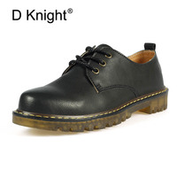 Vintage Oxfords Platform Casual Shoes Woman Lace Up British Style Women Brogue Shoes Hot Solid PU