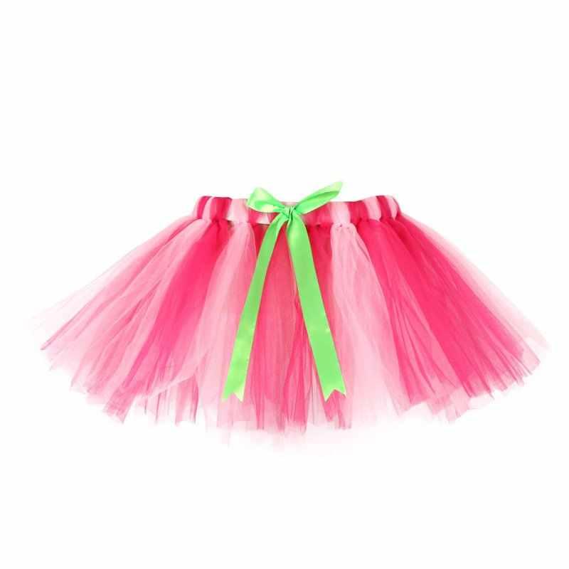 f9ae7c23a ... New Girls Rainbow Tutu Skirts Fluffy 3 Layer Baby Kids Tulle Tutu Skirt  Children Baby Photography