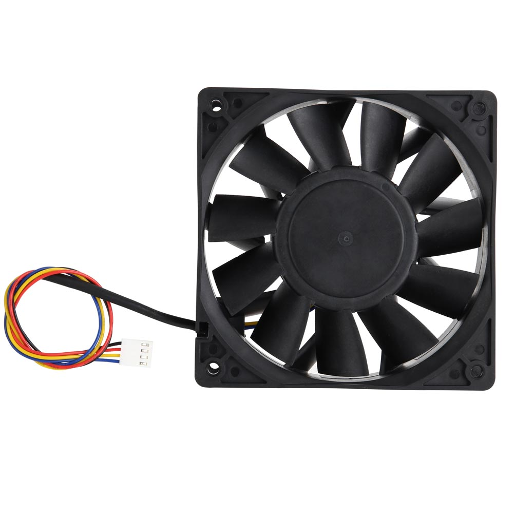 New Hot 7500RPM Cooling Fan Replacement 4-pin Connector   252.85CFM for Antminer Bitmain S7 S9 QJY99 computador cooling fan replacement for msi twin frozr ii r7770 hd 7770 n460 n560 gtx graphics video card fans pld08010s12hh
