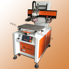 sidle economical and electrical automatic screen printing machine