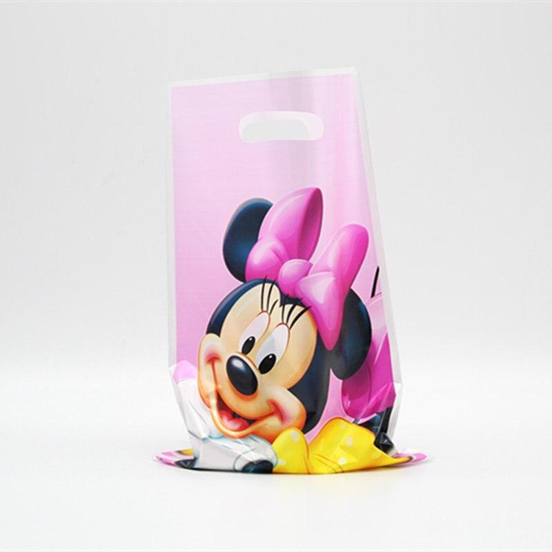 6pc/set gift bag bag toy Minnie theme cartoon animation anim