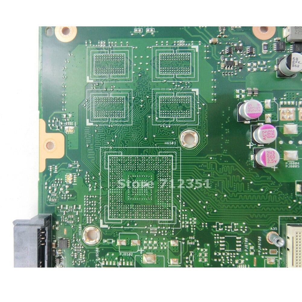 X75A 4 GB RAM carte mère HM70 pour ASUS X75VD R70V X75V X75VB X75VC ordinateur portable carte mère X75A carte mère X75A carte mère test ok - 5