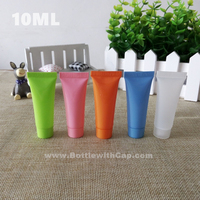 100*10ML Color soft tube Cleansing Cream lotion BB cream cosmetics sample sub bottle