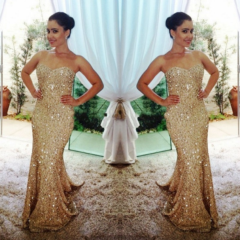 Compare Prices on Gold Sequin Mermaid Dress- Online Shopping/Buy ...