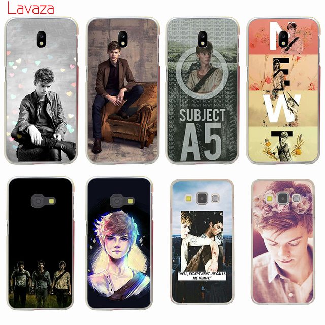 best loved 3e2be 403ba US $1.99 23% OFF Lavaza Thomas Sangster Hard Phone Case for Samsung Galaxy  J6 J7 J1 J2 J3 J5 2015 2016 2017 Prime Cover Cases-in Half-wrapped Case ...