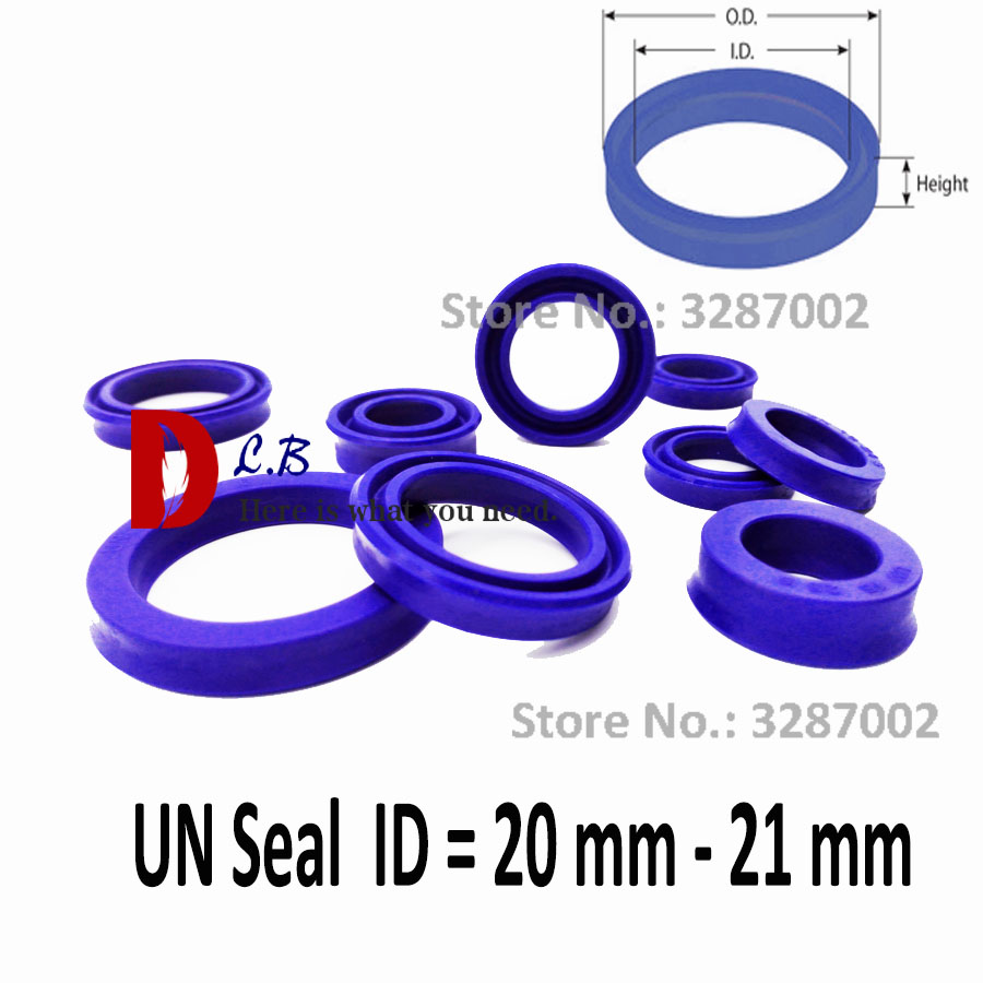 Logical U Ring Polyurethane (pu) Rubber U Cup Size Id*od*h Id = 20 Mm - 21 Mm Un Cup Single Lip Hydraulic Cylinder Piston And Rod Seal