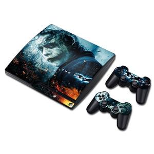 Image 5 - ג וקר ויניל עור עבור PS3 Slim קונסולת מדבקת כיסוי עבור PS3 Slim בקרי Gamepad Controle Mando מדבקות