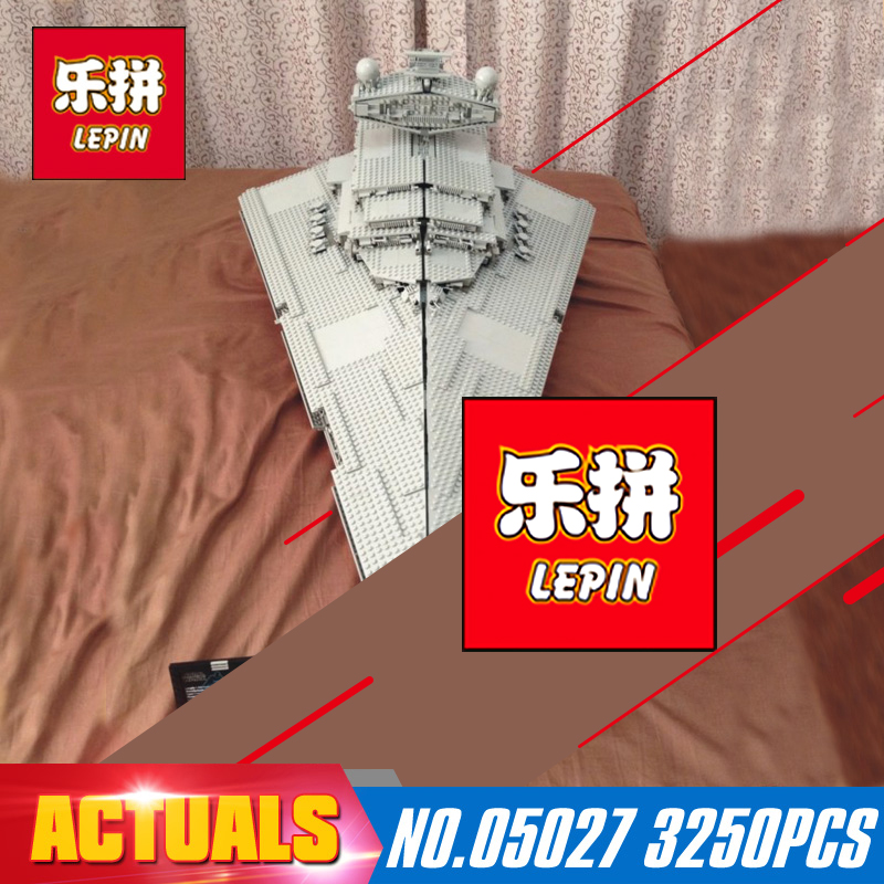 Star Wars 3250pcs Lepin 05027 Emperor Fighters Starship Building Kit Blocks Bricks Assembling Toy Compatible with Model 10030 new lepin 05027 3250pcs star wars imperial star destroyer model building kit blocks bricks compatible legoed toys 10030