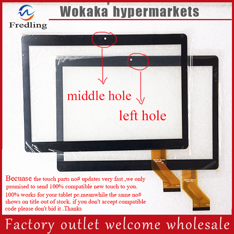New 10.1 inch touch screen panel digitizer for CONGWEI MTK8752 Octa Core 3G 4G LTE Tablet 8 inch touch screen for prestigio multipad wize 3408 4g panel digitizer multipad wize 3408 4g sensor replacement