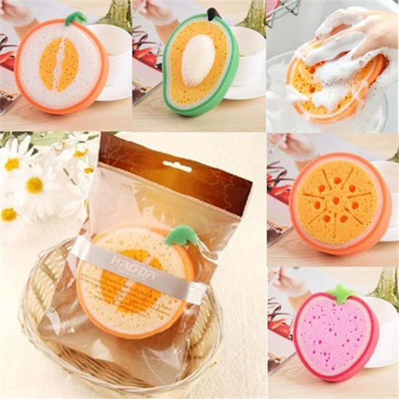 1pcs bath clean sponge brush fruit bath cotton modeling sponge bathroom kitchen supplies - Seven different uses of the kitchen sponge ...