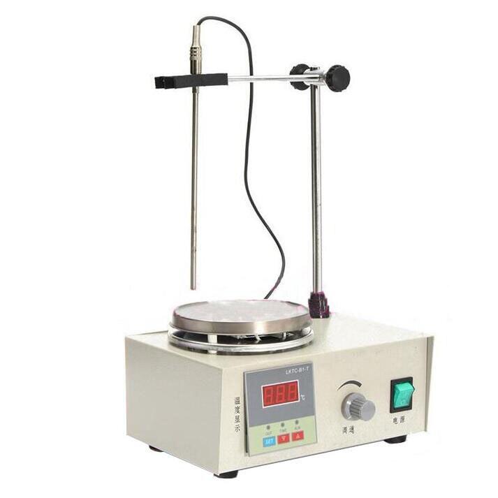 Mixer Lab Agitatore Agitatore Magnetico con piastra di riscaldamento mixer piastra 220 V temperatura dispaly