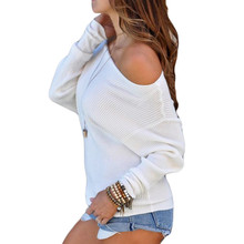 Autumn Women Sweater Batwing Sleeve Off Shoulder Knitted Pullover Sweater Casual Loose Pure Knitted Sweater Pullovers Pull Femme