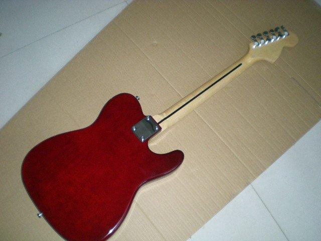 Electric guitar /2018 new guitar / Left-handed / dark red guitar/ Chinese Guitar. 4