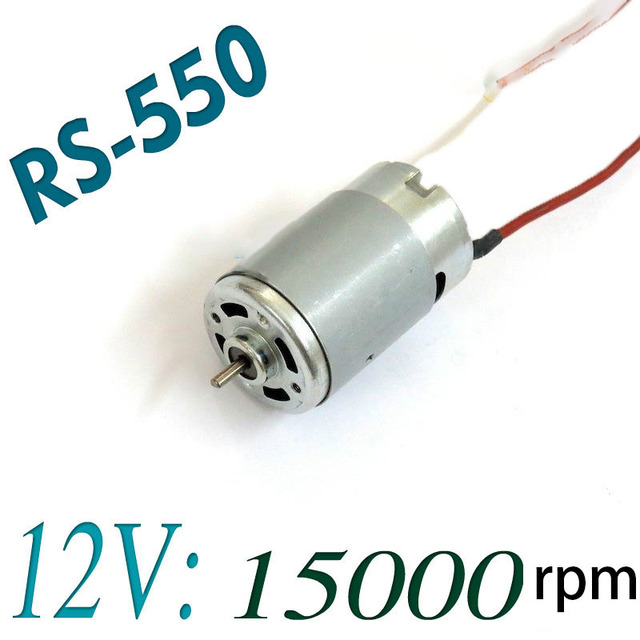 RS-550 Electric Tool DC Motor 12V 15000RPM For Bosch Makita Dewalt Hitachi Cordless Drill Screwdriver Accessories Spare Parts