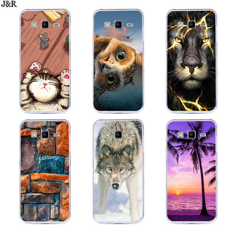 Phone Case For Samsung Galaxy Ace 4 Lite G313 G313H SM-G313H Ace 4 Neo G318H SM-G318H Soft TPU Cover Cartoon For Samsung G313