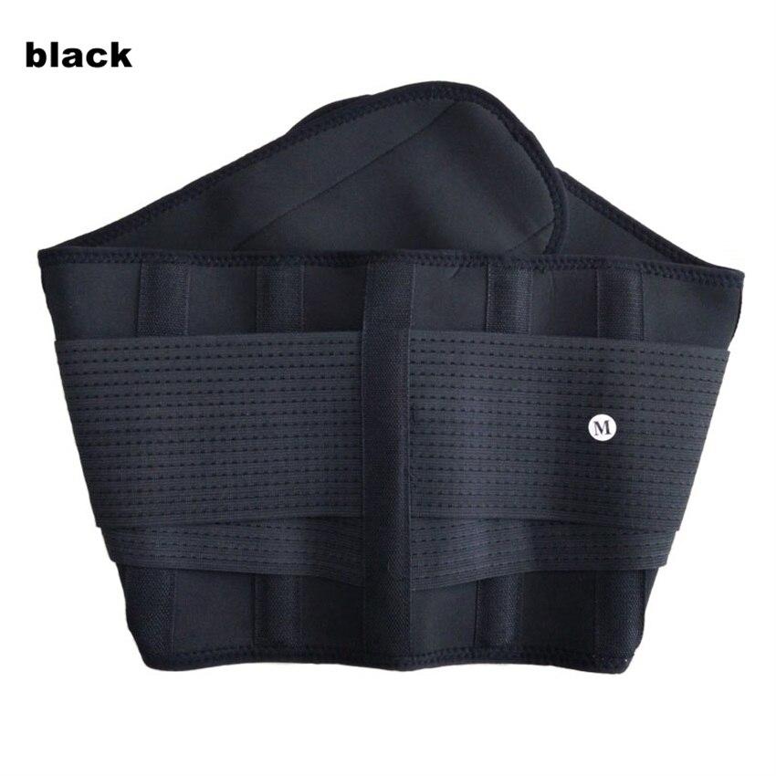 58d71e014f4 Hot Men And Women Adjustable Elstiac Waist Support Belt Lumbar Back Support  Exercise Belts Brace Slimming Belt Waist Trainer 2XL-in Waist Support from  ...