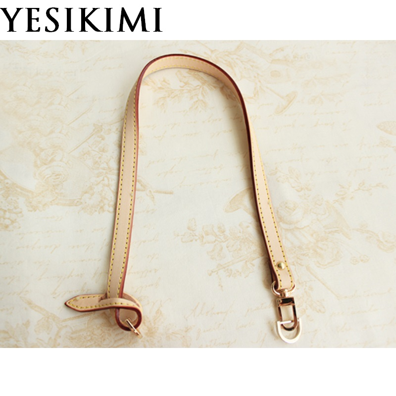 Genuine Leather Bag Strap 1.2*46CM Bag Accessories For Brand Bag Replacement Bag Handles
