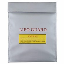 1Pc Fireproof RC LiPo Battery Safety Bag Safe Guard Charge Sack 230x300mm Hot Selling