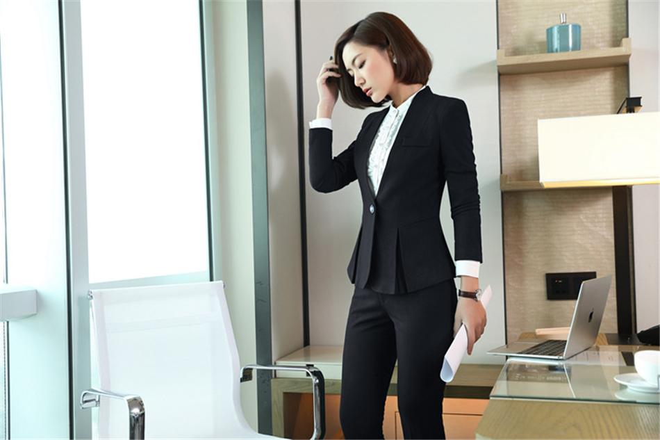 1edd141d364d Acquista QBK DPU Marchi Business Abbigliamento Slim OL Ufficio Donna ...