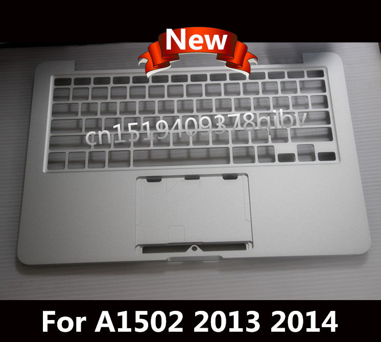 New Top case For Macbook Pro 13'' A1502 Topcase Palmrest No US keyboard no track pad 2013 2014 купить недорого в Москве