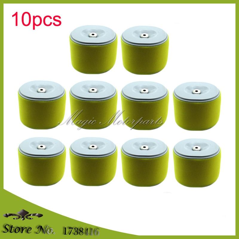 10pcs Air Filter For Honda 17210 ZE3 505 17210 ZE3 010 17210 ZE3 515 GX340 GX390