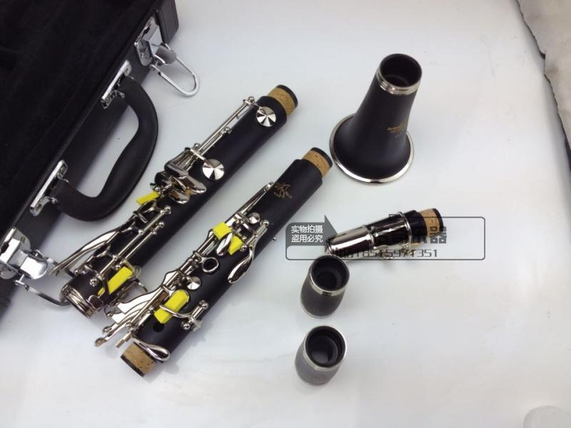 2017 New clarinet instruments SELMER professional performance Clarinet level 17 key B flat clarinet promotion special offer alto b golden trumpet silver band special instruments suitable for primary employs professional performance