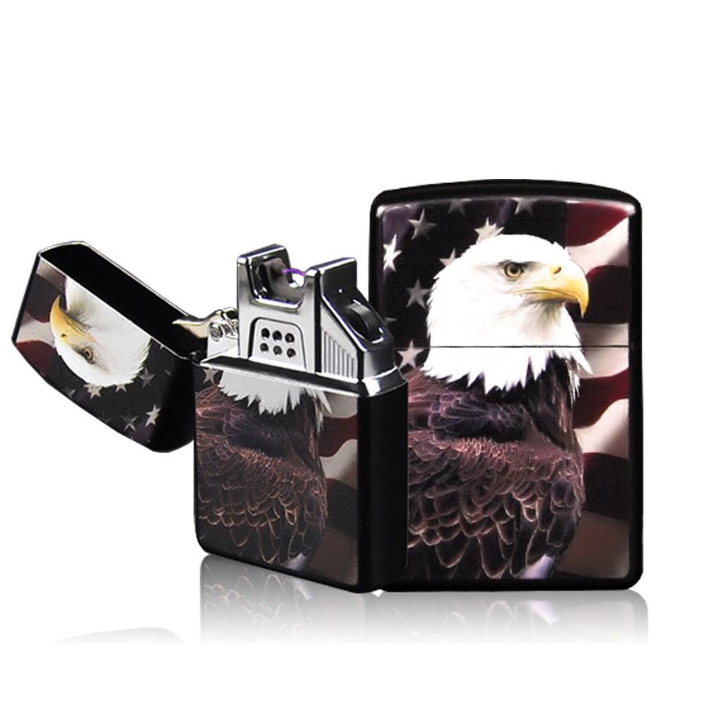 High Quailty Cross Arc Lighter Case USB Pulse Windproof Lighters Electronic Metal Men Cigarette lighter JL-220V