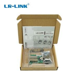 Image 5 - LR LINK 2203pf 2sfp duplo porto mini adaptador de fibra pci e intel i350 gigabit placa de interface de rede óptica (2xsfp)