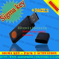 2016 version original Sigma Key + Sigma Pack 2 Activation for Zte for Motorola free shipping